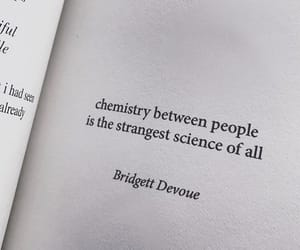 love, chemistry, and quotes image