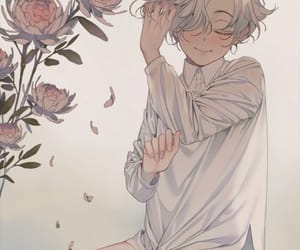 anime, flower, and illustration image