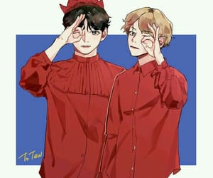 peekaboo, red, and vkook image