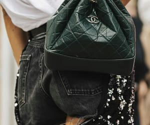 chanel, fashion, and green image