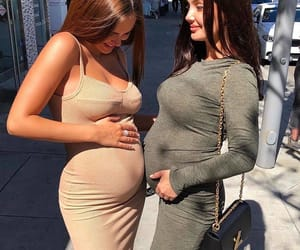 baby, goals, and pregnant image