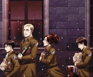 anime, Erwin, and aot image