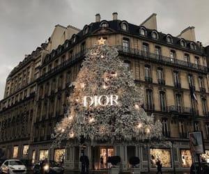 christmas, dior, and paris image