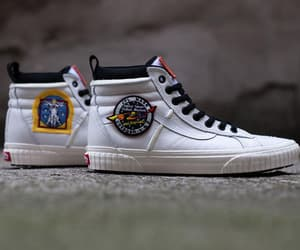nasa, sneakers, and vans image