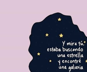 amor, estrellas, and frases image