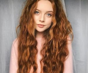 redhead, hair, and hairstyle image