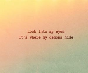 demons, quotes, and imagine dragons image