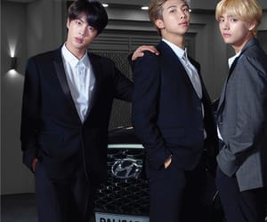 jin, kpop, and rm image