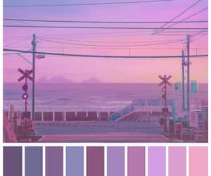 aesthetic, lilac, and purple image