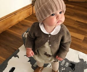 baby, outfit, and winter image