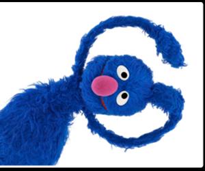 blue, grover, and sesame street image
