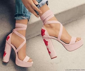 high heels, styles, and shoes lovers image