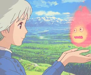 gif, howl's moving castle, and sophie image