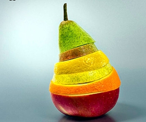 apple, foto, and fruit image