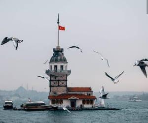 istanbul, place, and kız kulesi image