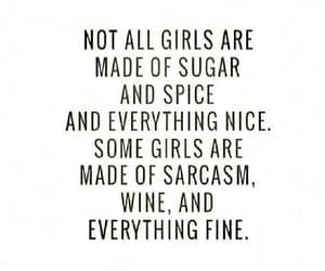 quotes, girl, and sarcasm image