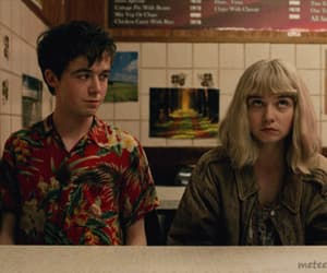 gif, alex lawther, and jessica barden image
