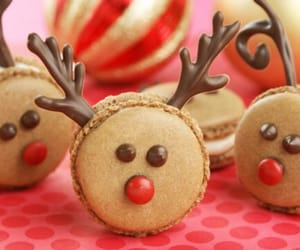 bakery, christmas, and red nose image