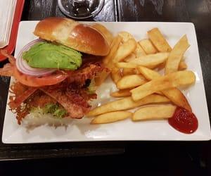 burger, food, and cheese burger image