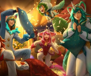 etoile, skin, and league of legends image
