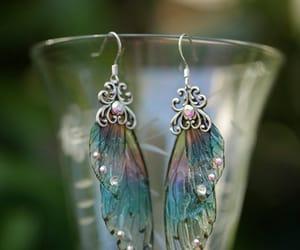 crystal, earrings, and Fairies image