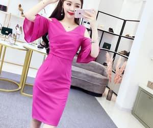dress, Harajuku, and korea image