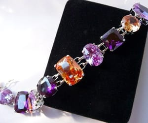 etsy, gift for her, and amethyst purple image