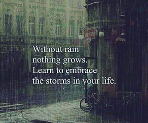 beautiful, rain, and quotes image