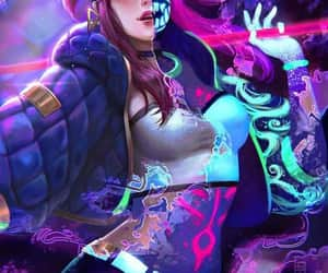 akali, lol, and league of legends image