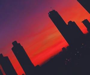 aesthetics, architecture, and sunrise image