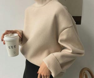 fashion, aesthetic, and coffee image