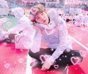 boys, edit, and hearts image