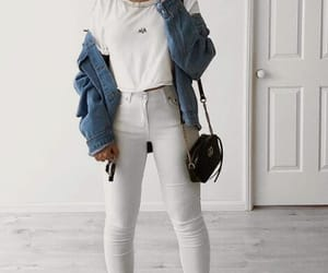 blogger, casual, and jeans image