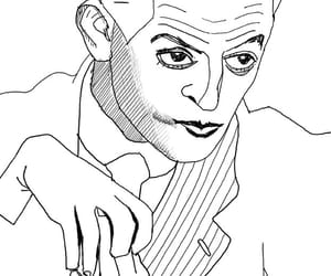 art, arte, and caricatura image
