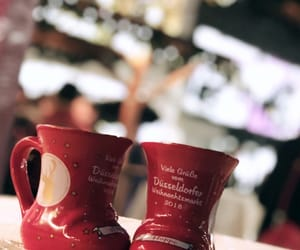 christmas, dusseldorf, and christmas market image