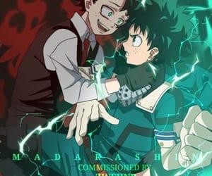 boku no hero academia and villain deku image