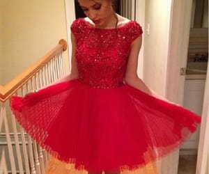 homecoming dress red image