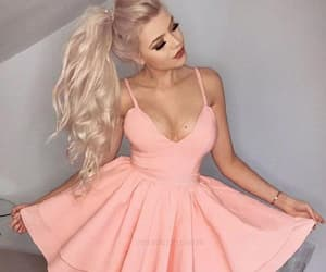 sexy homecoming dresses, short homecoming dresses, and pink homecoming dresses image