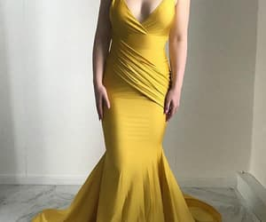 yellow prom dresses and prom dresses mermaid image