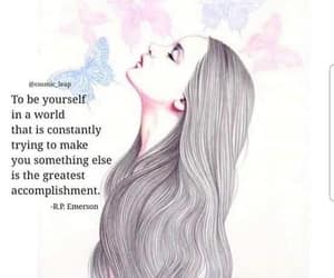 be yourself, butterfly, and empowerment image