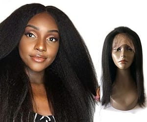 hair extensions, wigs, and lace front wigs image