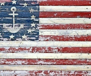 america, american flag, and anchor image