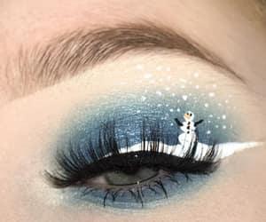 beauty, christmas, and eyes image