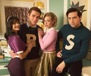 riverdale, jughead, and Archie image