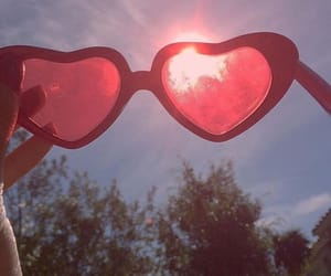 lolita, red, and lentes image