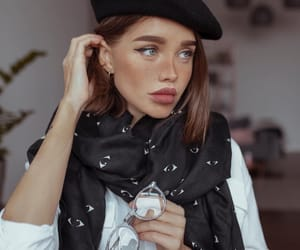 beautiful, beret, and cool image