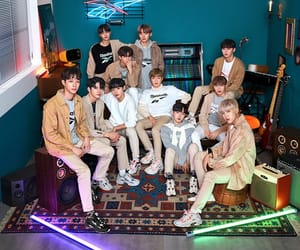 kpop, wannaone, and models image