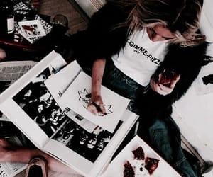 girl, food, and aesthetic image
