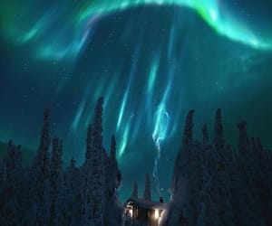 finland and sky image