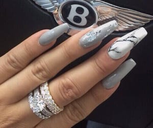 nails, beauty, and luxury image
